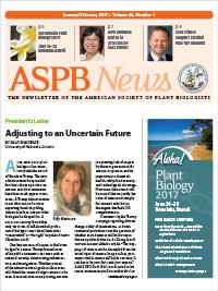 ASPB News January/February 2017