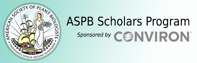 ASPB Conviron Scholars Program