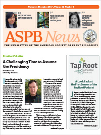 ASPB News Nov/Dec 2017