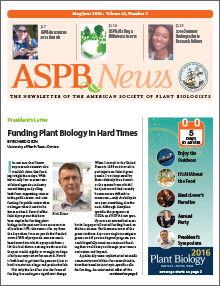 ASPB News - MayJune 2016