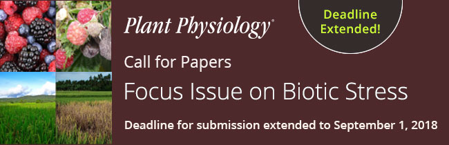 Focus Issue on Biotic Stress