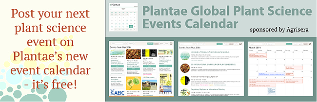 Plantae Plant Science Events Calendar