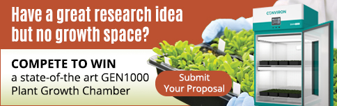 Plantae and Conviron - Seeding Discovery Competition ASPB Banner