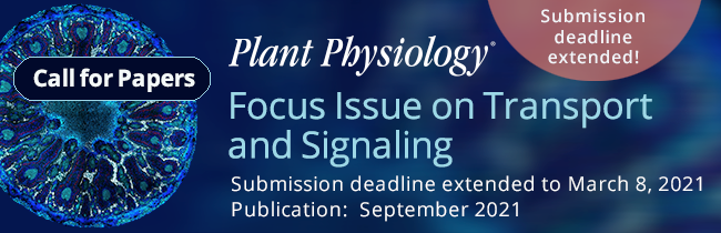 2021-Plant-Physiology-Focus-Transport-Signaling